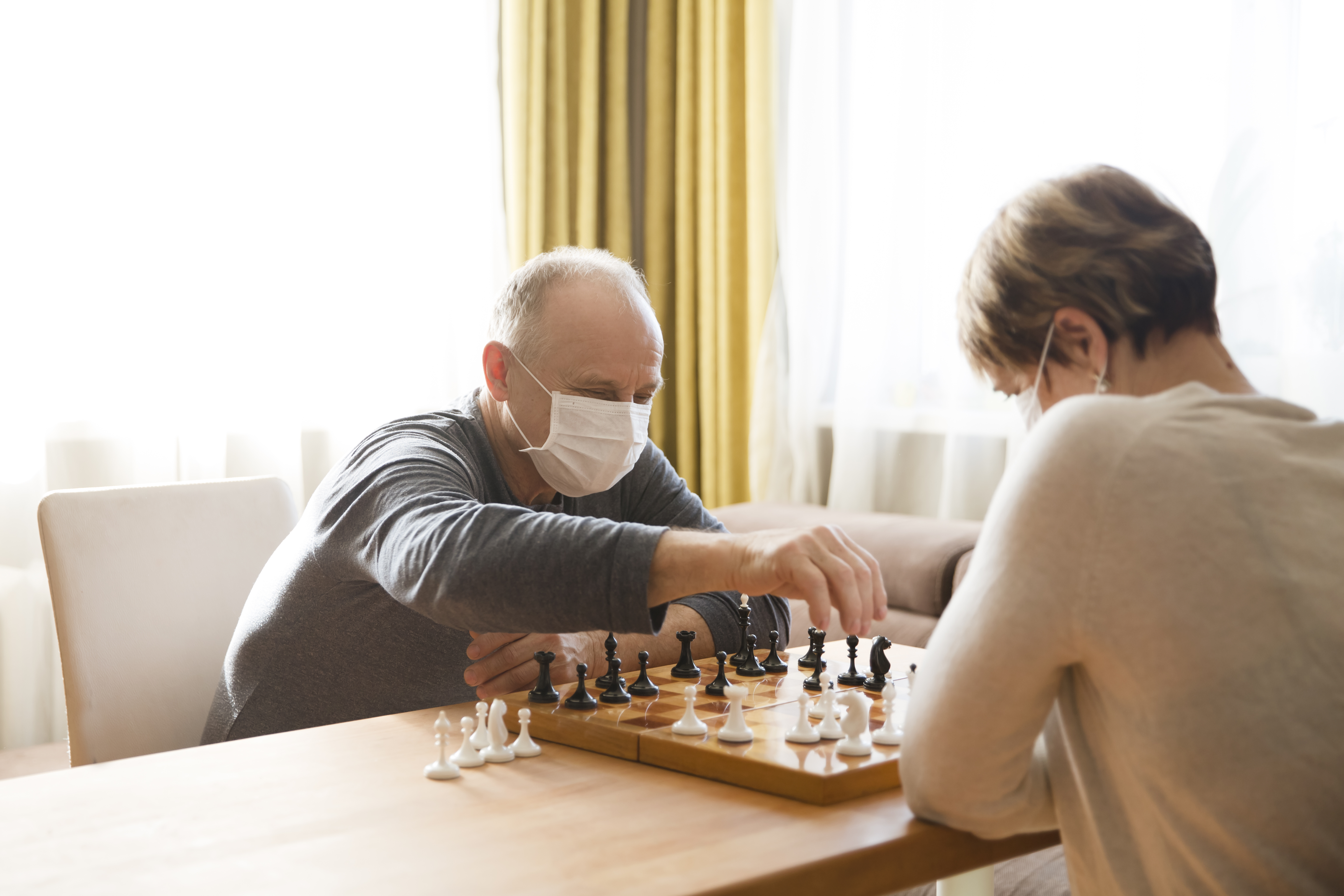 How Chess is Used in At Home Care to Benefit Seniors in Hot Springs