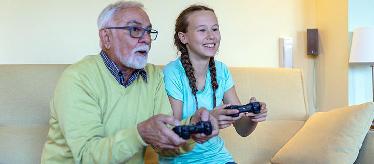 The Impact Grandchildren Can Have in Senior Care