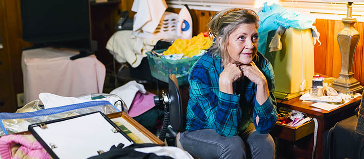 How to Help Seniors With Hoarding Problems