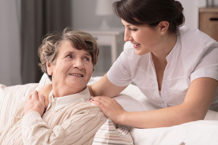 How a Visiting Angels Caregiver Can Aid Recovery After a Hospital Stay