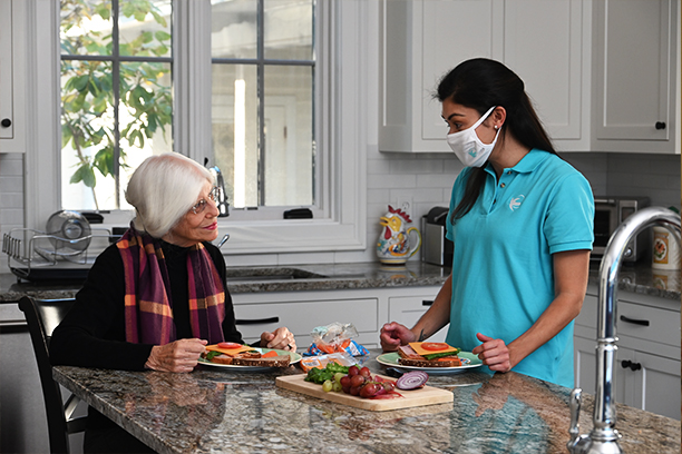 At Home Care from Visiting Angels Sandy Springs