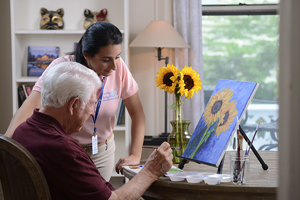 Visiting Angels of Mid Maine Offers Home Care for Seniors Dealing with Lewy Body Dementia