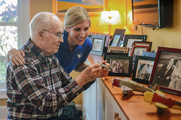 Seniors with Alzheimer's Receive Quality In Home Care Services in the Greater Pottstown, PA Area
